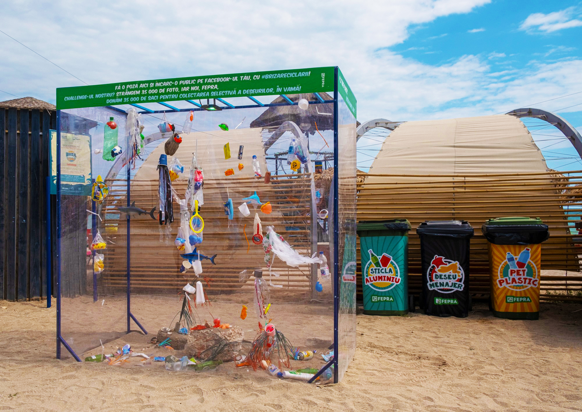 Fepra - reciclare plaja Vama Veche