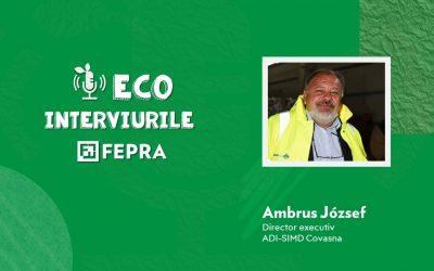 Eco-Interviurile FEPRA Ambrus József – Director executiv, ADI-SIMD Covasna